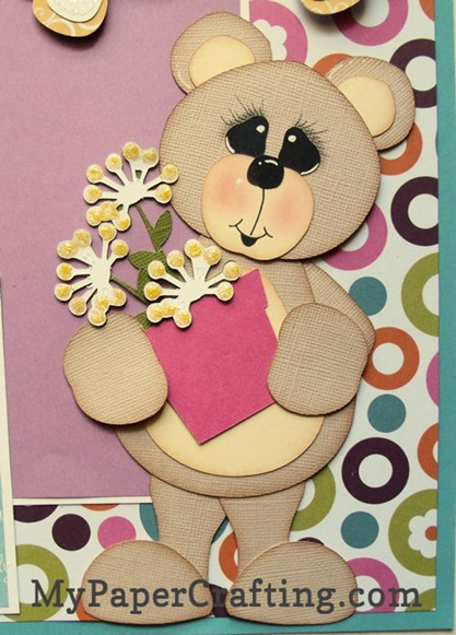 bear with flower pot-500