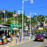 Downtown Marigot, French Capital of St. Martin - Philipsburg, St. Maarten