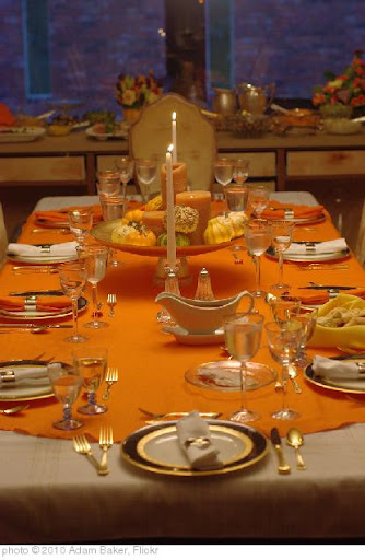 'Thanksgiving Table 2010' photo (c) 2010, Adam Baker - license: http://creativecommons.org/licenses/by/2.0/