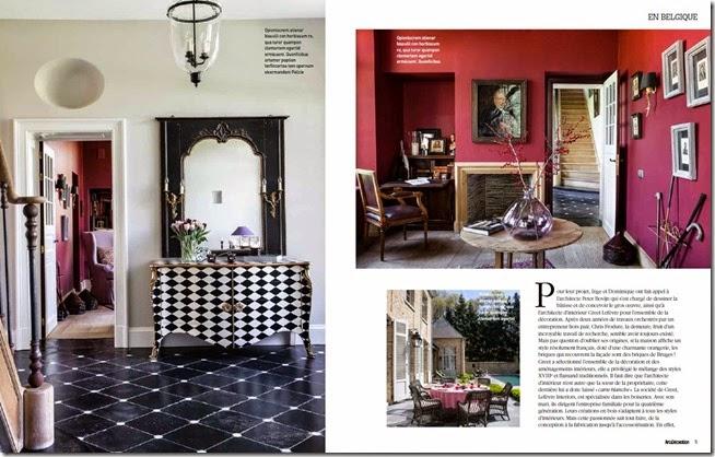 Lefèvre Interiors dans Art & Décoration 2014 (2)