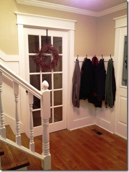 coat rack entry