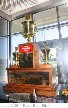 '7.2.11 - Matt Kenseth Museum - 2003 Winston Cup Trophy' photo (c) 2011, Royal Broil - license: https://creativecommons.org/licenses/by-sa/2.0/