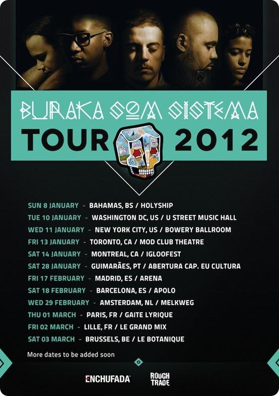 Buraka Tour 2012