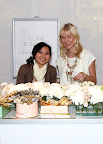 The lovely Thu and Kimmy had so much fun teaching guests about flowers.