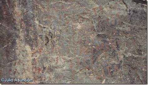Cueva Negra - grafitos romanos - Fortuna