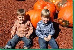 boys pumpkin