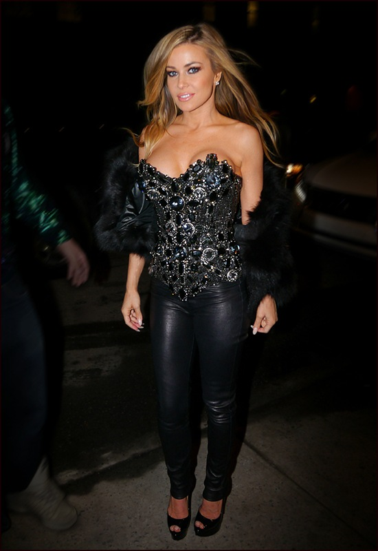 Carmen Electra at The Blonds ol