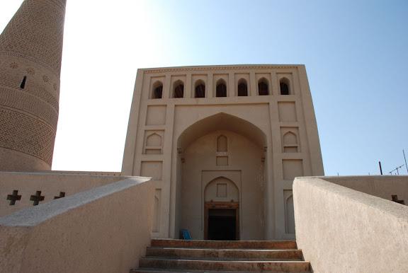 Turfan - Minaret Emin entree mosquee