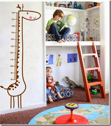 Free-Shipping-New-Giraffe-Kids-Growth-Chart-Height-Measure-For-Home-Kids-Rooms-DIY-Decoration-Wall