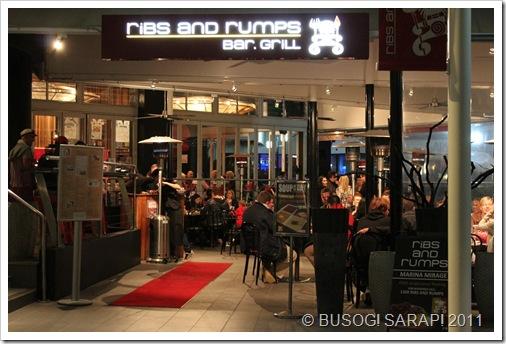 RIBS & RUMPS, MARINA MIRAGE© BUSOG! SARAP! 2011