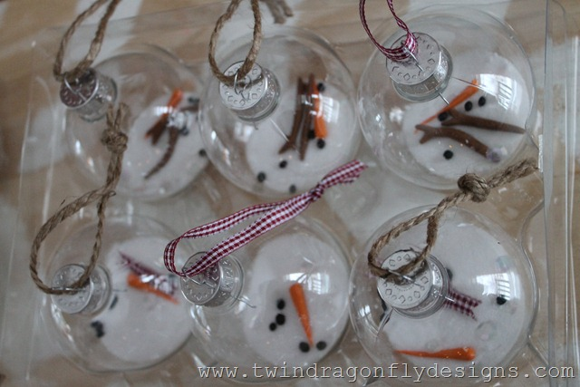 Melting Snowman Ornament (9)