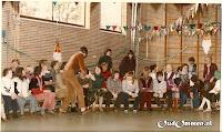 Sinterklaasfeest  in de gymzaal (2)