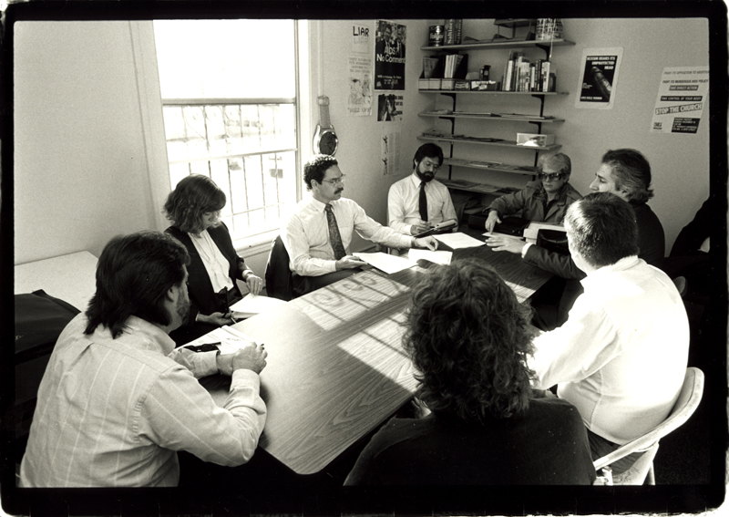 National Commission on AIDS meeting. January 24, 1990.