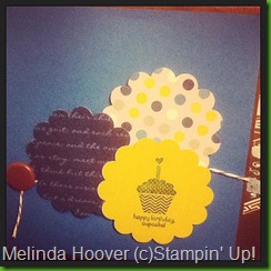 happy birthday cupcake blue