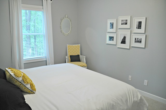 Change of Art Gallery Wall Guest Room