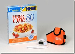 fiber one 80 calories cereal prize pack