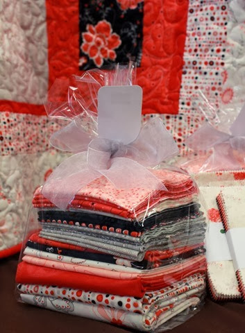 Table for Two quilt kit available from The Fabric Mill