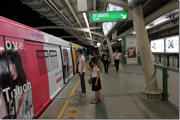 Bangkok's Skytrain, their mass transit system