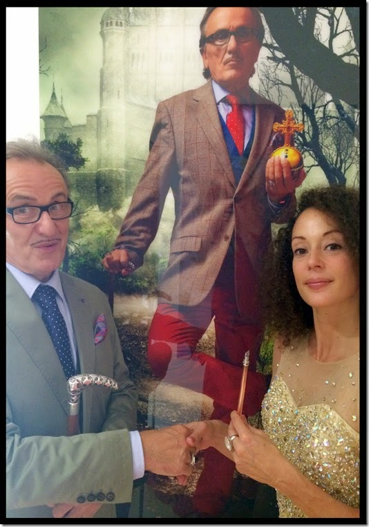 Lo Graf von Blickensdorf und Joelle Meissner