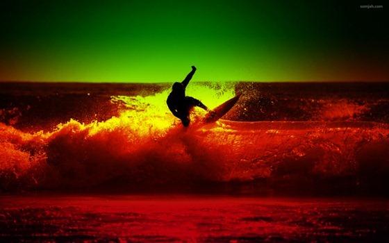 papel de parede surf reggae 04