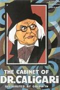 affiche Cabinet du docteur Caligari 1919