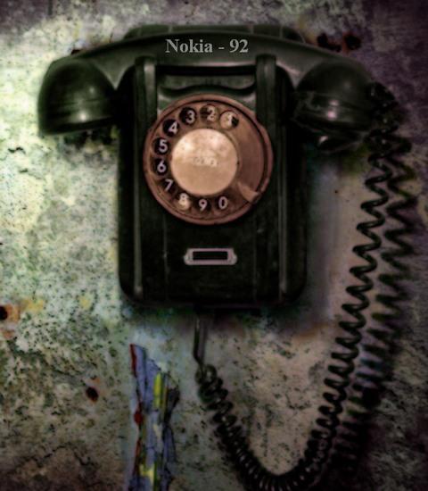 нокия б\у, старенькая, дисковый телефон