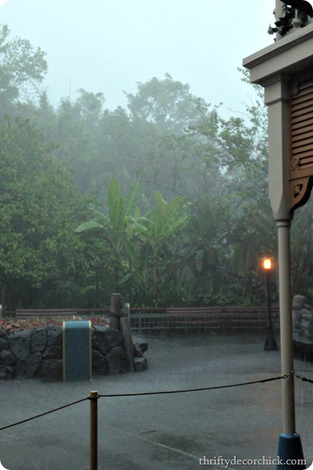 downpour in Disney