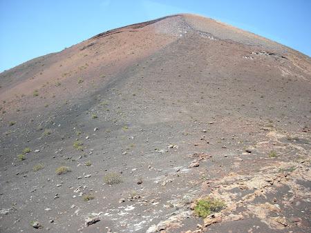 Peisaj din Timanfaya Lanzarote – vegetaţie de licheni