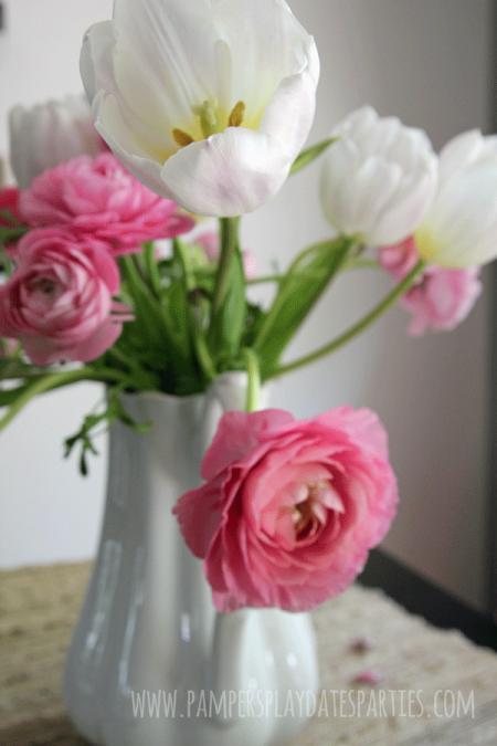 Pink-White-Ranunculus