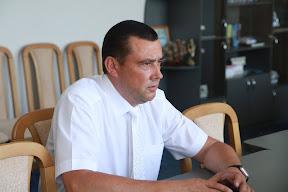 Рабочий визит в Шахтерск 15 июля 2011