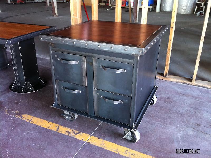 Custom Vintage Industrial Office Furniture   Vintage Industrial ...