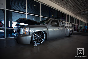 Chevy Silverado equipped with AccuAir e-Level