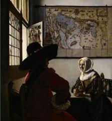 vermeer oficial y chica