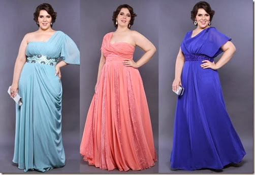 vestidos de festa plus size gordinhas