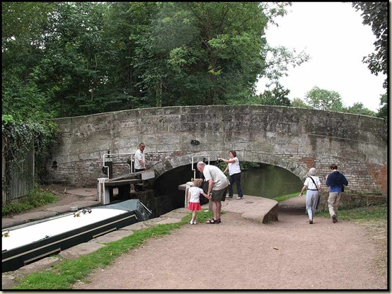 The Trent and Mersey Canal at Shugborough