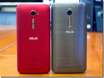 Asus Zenfone 2 Layar 5 Inci back