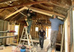 1405203 May 17 Putting Up The Next Rafter