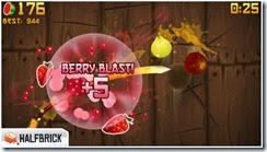 لعبة تقطيع الفواكه Fruit Ninja Free للأيفون والأيباد - 3