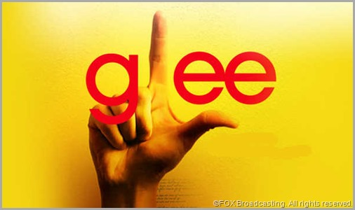 Giving viewers the finger every week, all season long. CLICK to visit GLEE online.