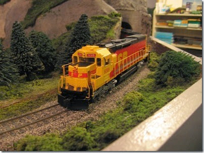 IMG_0450 Southern Pacific Kodachrome Tunnel Motors on My Layout on April 5, 2008
