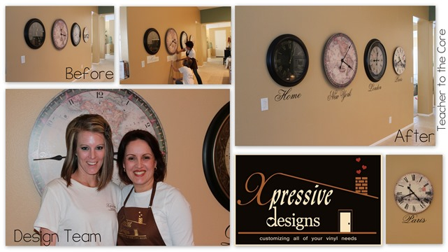 Transform your space with wall words and the xpressive designs team. Affordable and gorgeous!