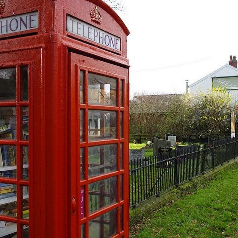 Britain's Telephone Box Libraries