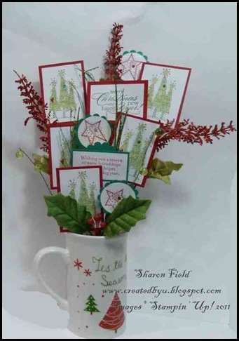 5. Retired Stamp Set Flower Arrangement By SHaron_Field