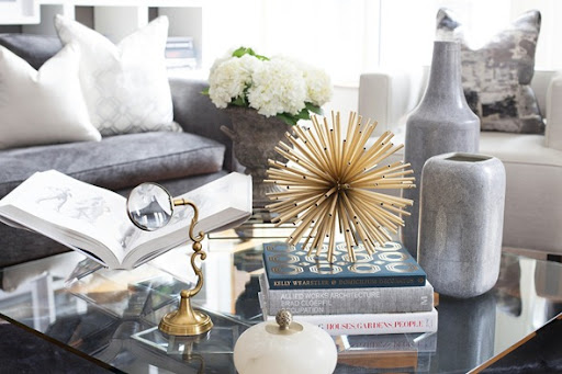 {Jordanu0027s Beautifully Styled Coffee Table}