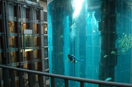 Cylindrical Aquarium 01
