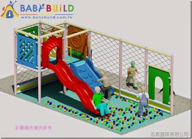 泓育國際_BabyBuild室內3D泡管兒童遊具
