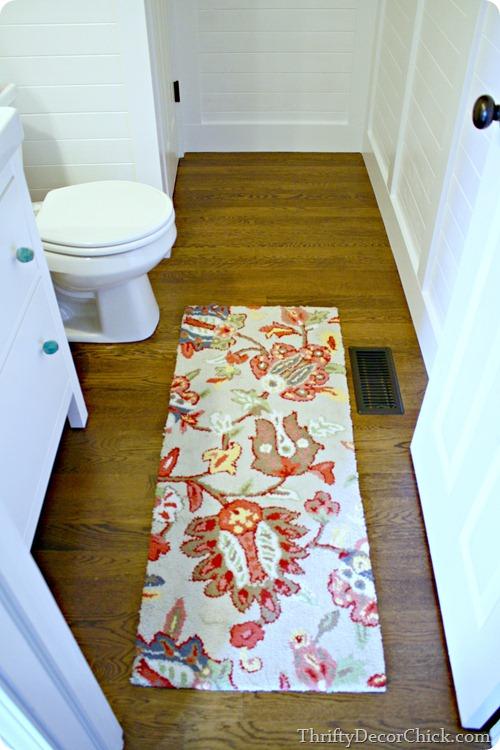 red blue target rug