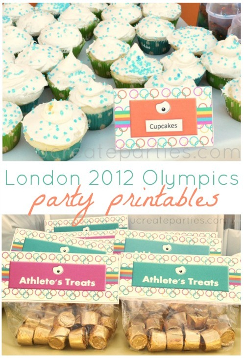London Summer Olympics Free Printables