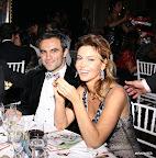 Karina Mazzoco y su marido Omar El Bacha