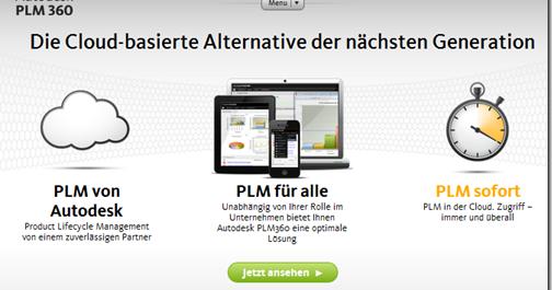 autodesk inventor faq autodesk plm 360 jetzt auch mit einer deutschen webseite. Black Bedroom Furniture Sets. Home Design Ideas